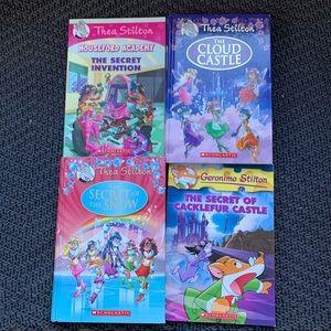 Bundle 4 Geronimo and Thea Stilton kids novels
